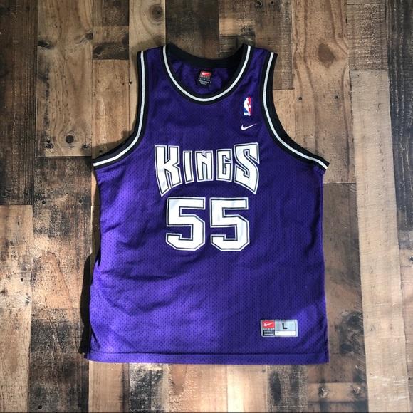 sale retailer 22db4 25eb8 Nike Jason Williams Sacramento Kings Jersey